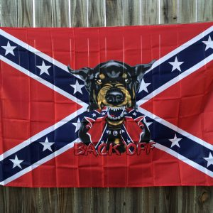 Rebel Back Off Flag