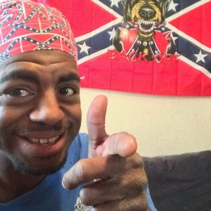Confederate Flag Do Rag (small Flags)