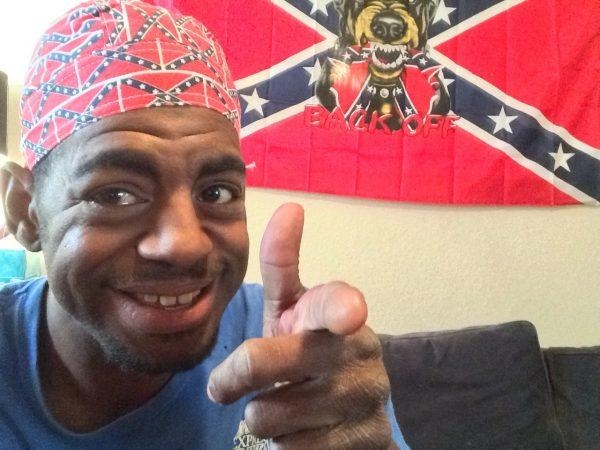 Confederate Flag Do Rag (small Flags)