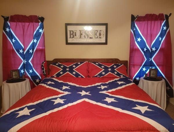 Confederate Flag Curtains