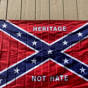 Heritage Not Hate Confederate Flag