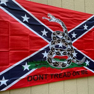 Confederate Don't Tread on Me Flag