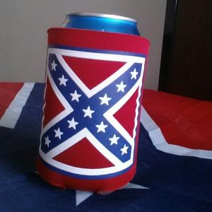 Rebel Red Can Koozie