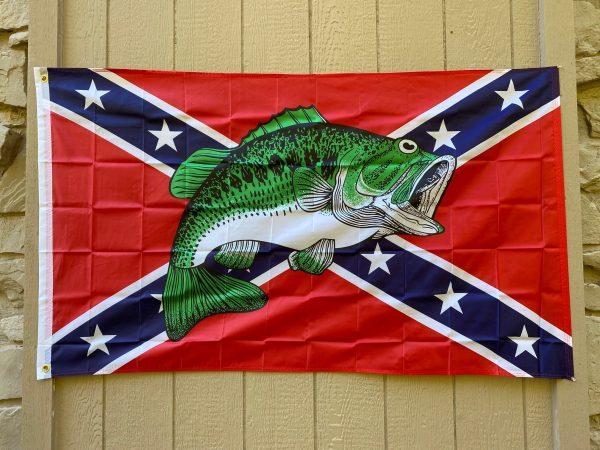 Confederate Bass Flag