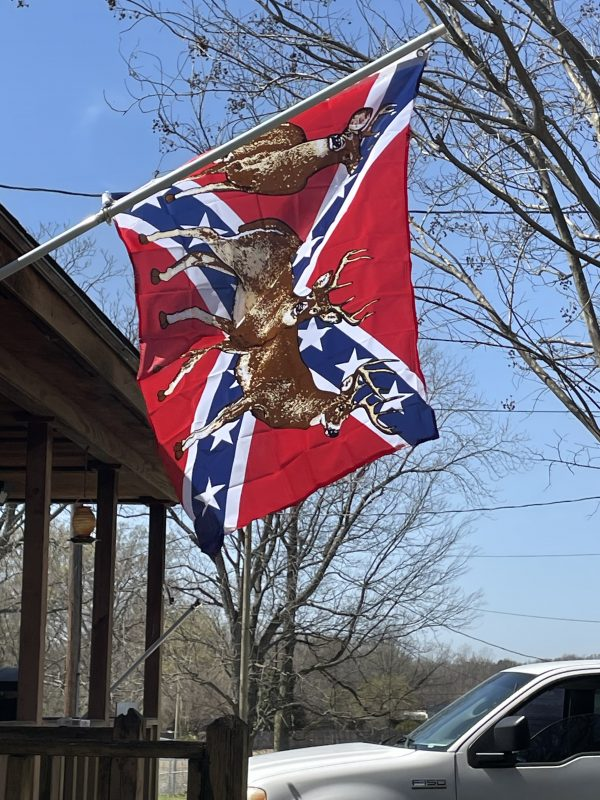 Confederate Deer Flag