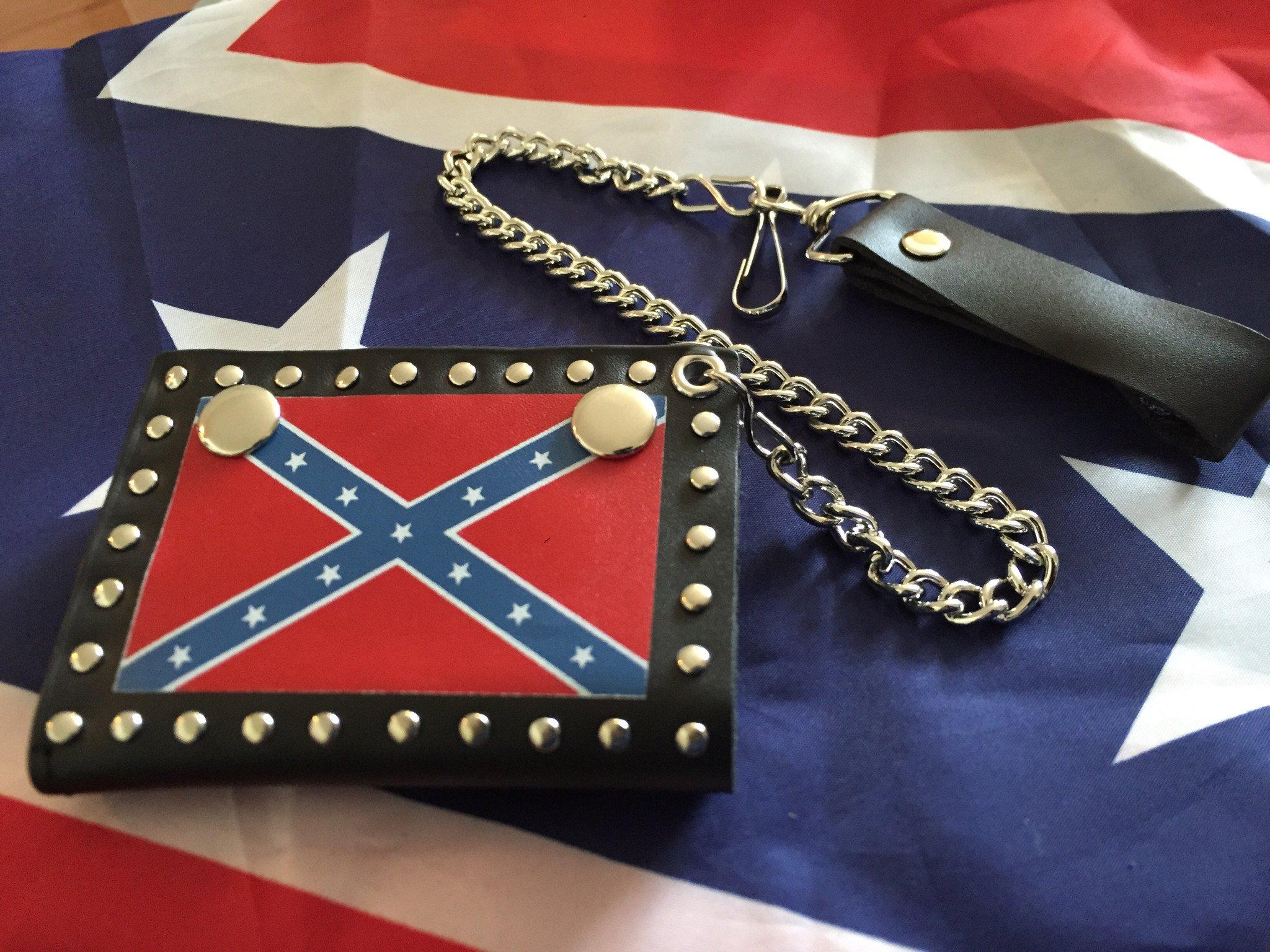 Rebel Tri-Fold Wallet w/Chain