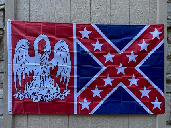 Louisiana Confederate Flag