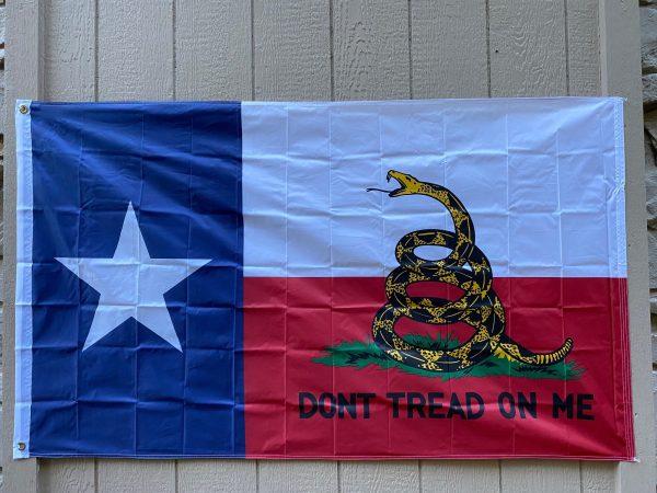 Texas Gadsden Flag