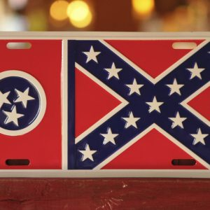 Tennessee/ Battle Flag License Plate