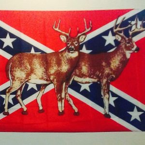 Rebel Deer Flag