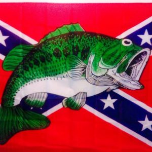 Rebel Fish Flag