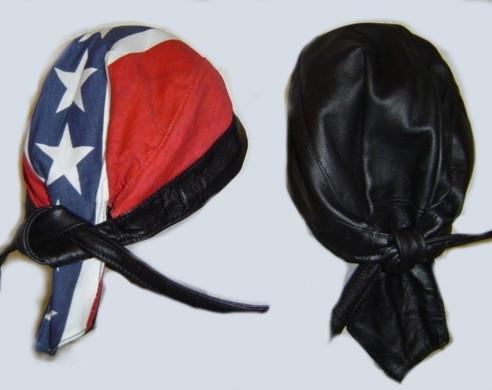 Reversible Leather Rebel Do Rag