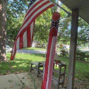 confederate rebel flag windsock