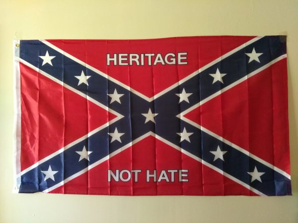 Heritage Not Hate Flag