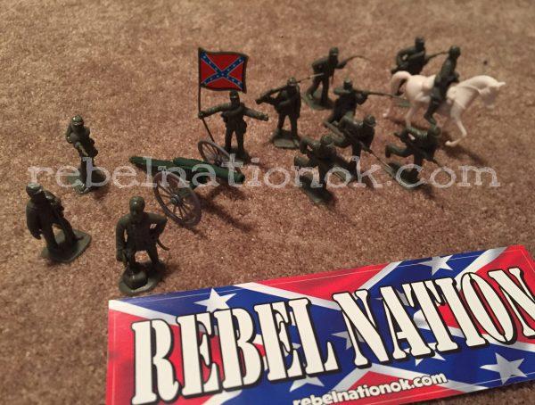 Confederate Army Men Set