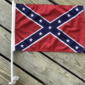 Confederate Car Window Flag