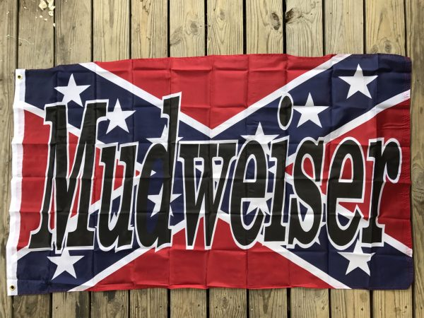 Mudweiser Rebel Flag