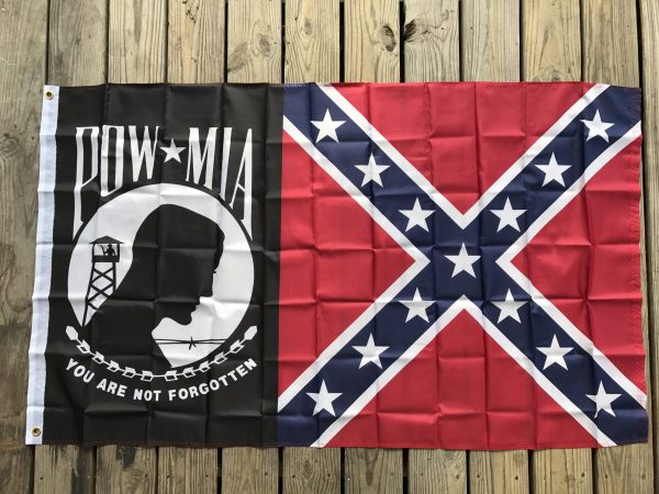 POW-MIA Confederate Battle Flag