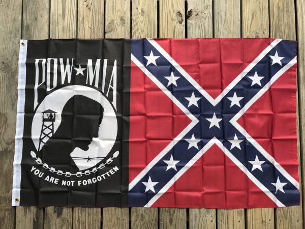 POW-MIA Confederate Battle Flag