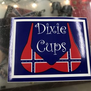 Dixie Cups Bumper Sticker