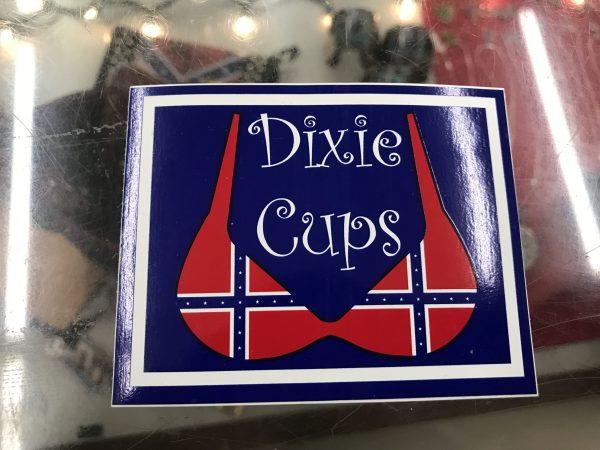Dixie Cups Bumper Sticker