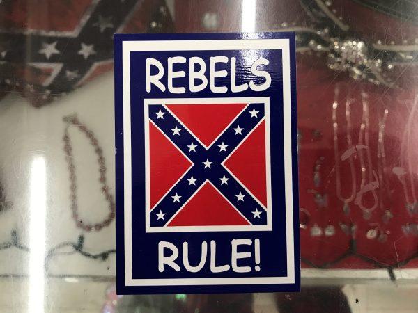 Rebels Rule Confederate Bumper Sticker