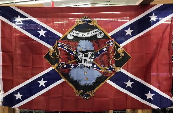 Rebel To The End Confederate Flag