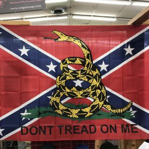 Rebel Don't Tread on Me Flag