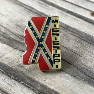 Mississippi Confederate Lapel Pin