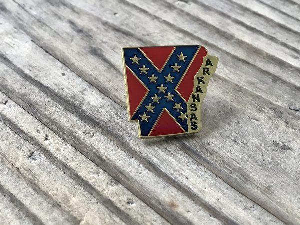 Arkansas Confederate Lapel Pin