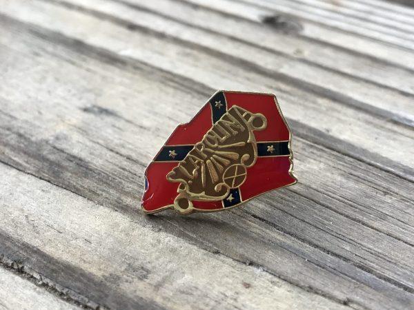 South Carolina Confederate Lapel Pin