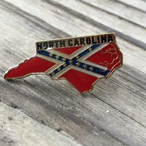North Carolina Confederate Lapel Pin