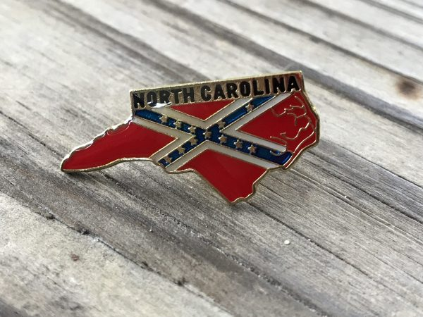 North Carolina Confederate Lapel Pin
