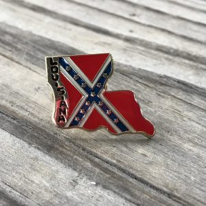 Louisiana Confederate Lapel Pin
