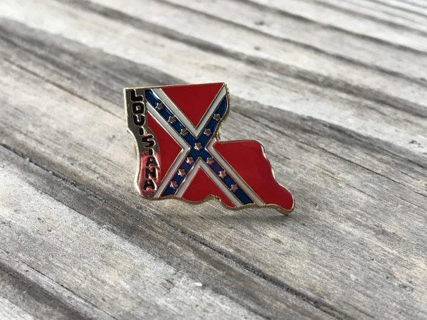 Louisiana Confederate Lapel Pin