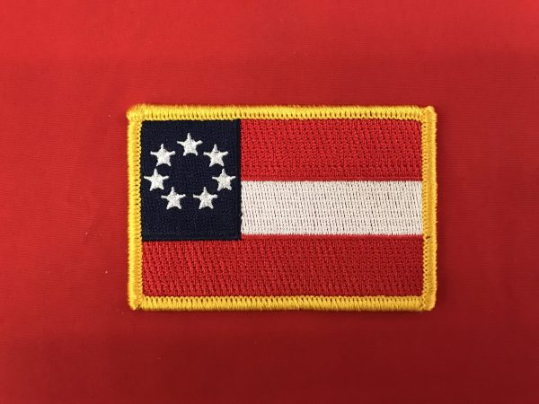 1st National Confederate Flag Patch