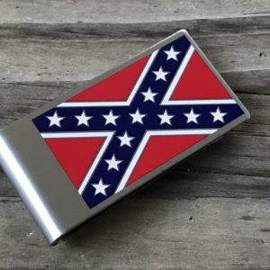 Confederate Flag Money Clip