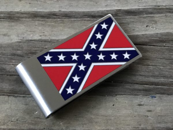 Confederate Flag Money Clip