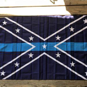 Confederate Blue Line Flag