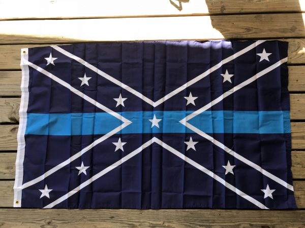 Confederate Blue Line Flag