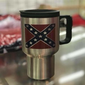 Confederate Stainless Steel Travel Mug