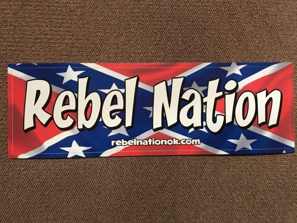 Rebel Nation Bumper Sticker