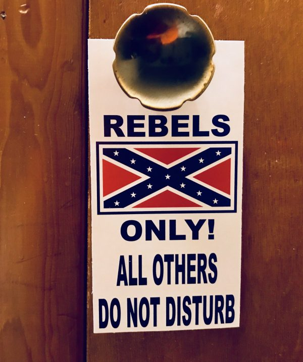 Confederate Door Knob Hanger