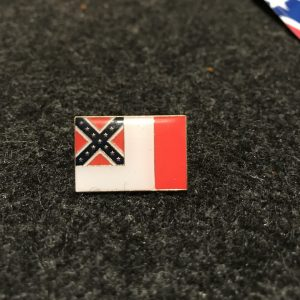3rd National Confederate Flag Pin