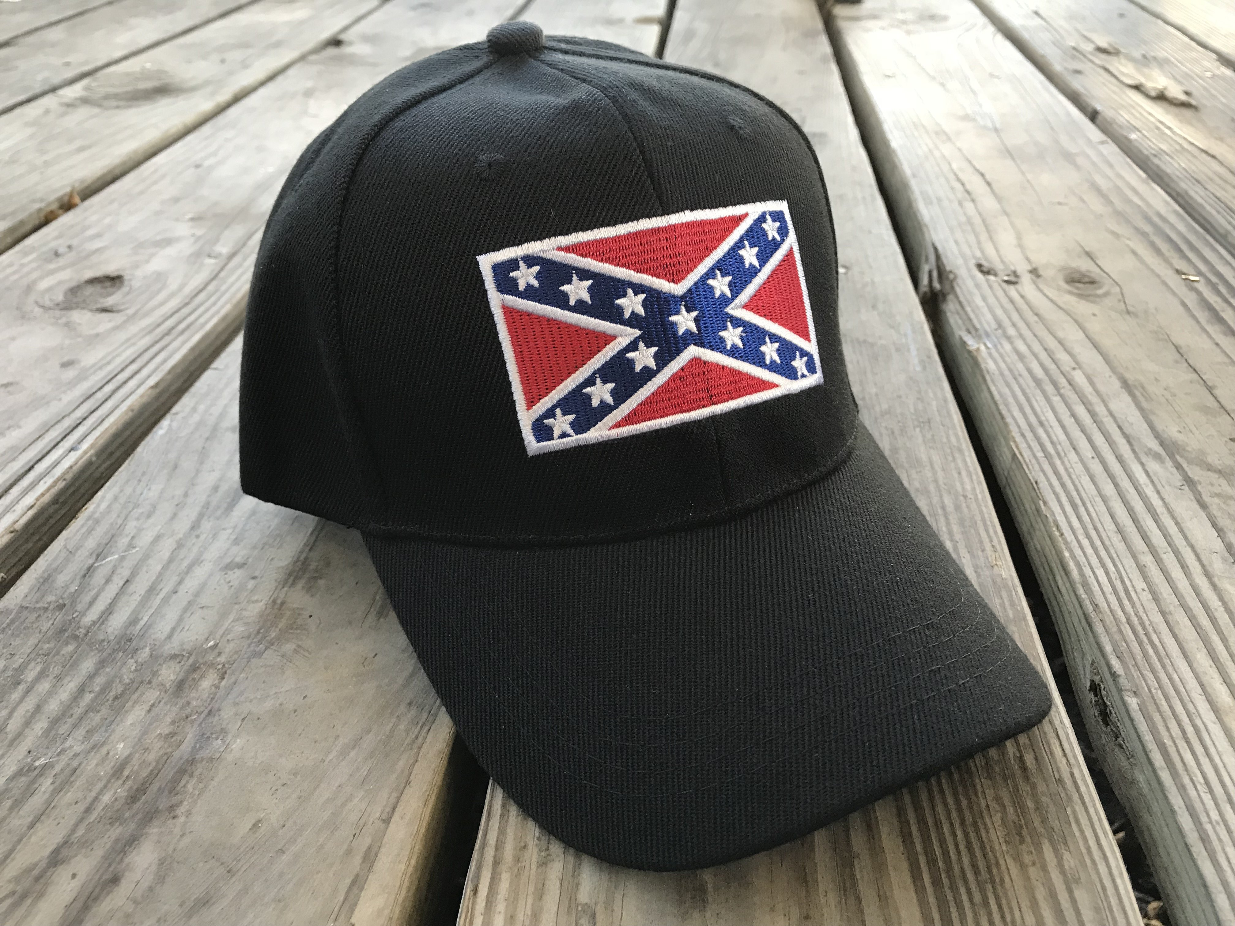 Embroidered Battleflag Patch Cap