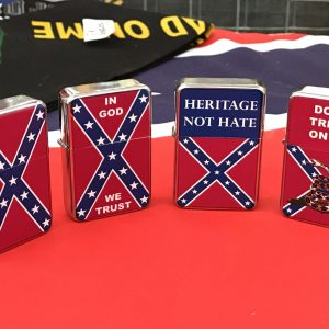 Confederate Windproof Refillable Lighter