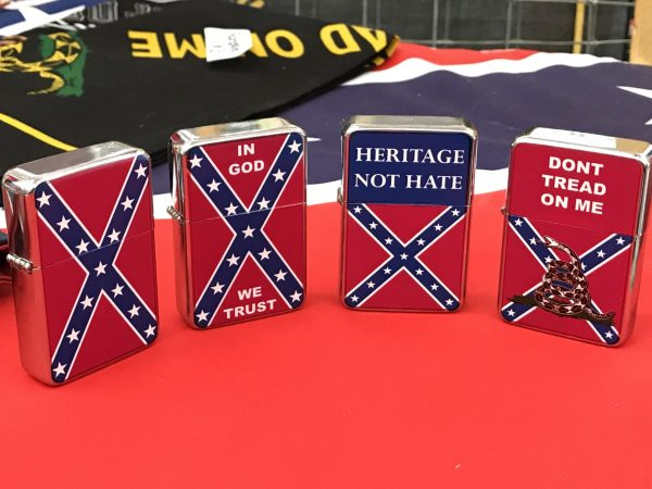 Confederate Windproof Refillable Lighter