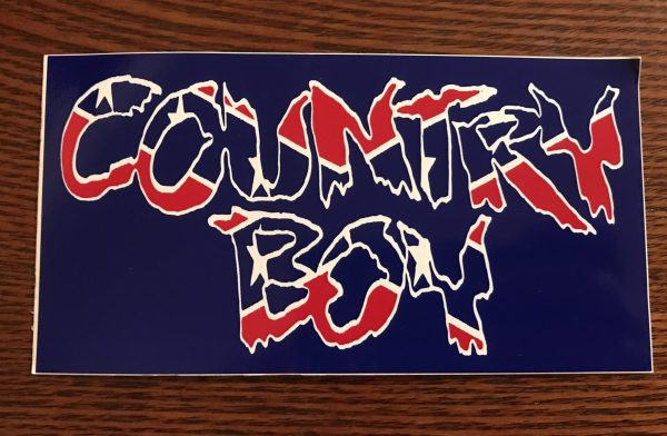 Country Boy Sticker