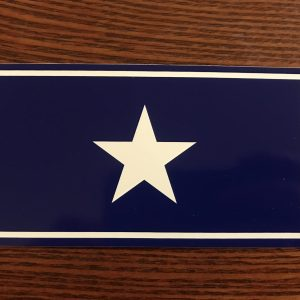 Bonnie Blue Flag Sticker
