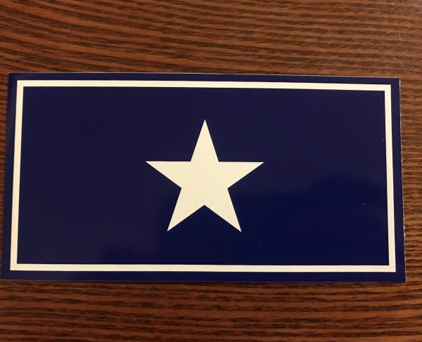 Bonnie Blue Flag Sticker